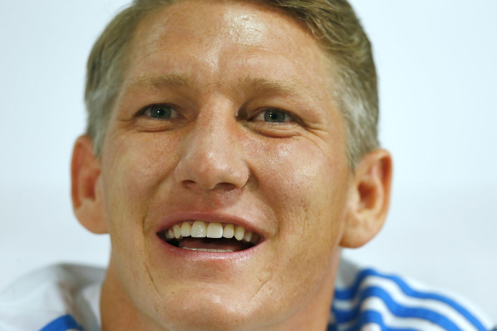 Le footballer allemand Bastian Schweinsteiger