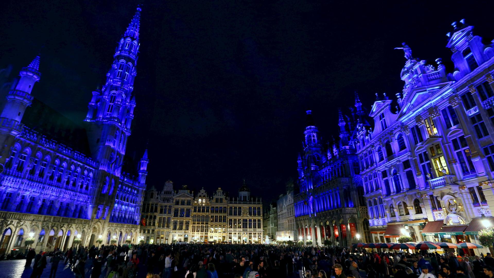 La Grande place à Bruxelles