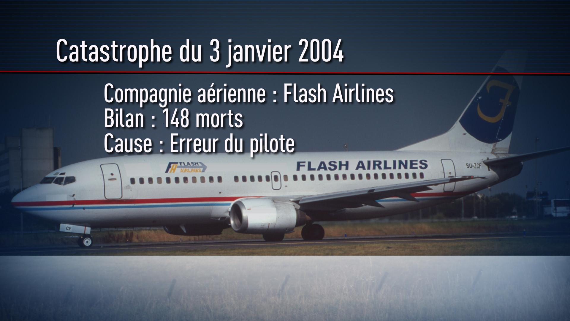Les cinq catastrophes aériennes les plus graves du ciel égyptien
