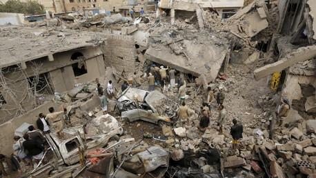 Les conséquences d'un raid aérien saoudien à Sanaa