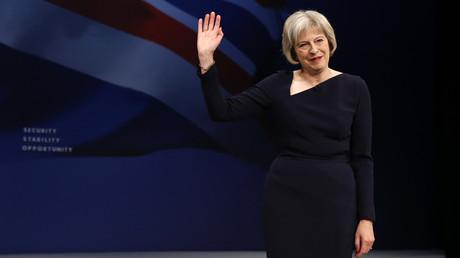 Theresa May, la ministre de l'Intérieur britannique.