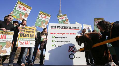 Greenpeace veut racheter un groupe énergétique suédois