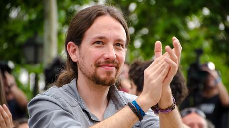 Le chef de Podemos dénonce la «lâcheté» de François Hollande envers l'Allemagne