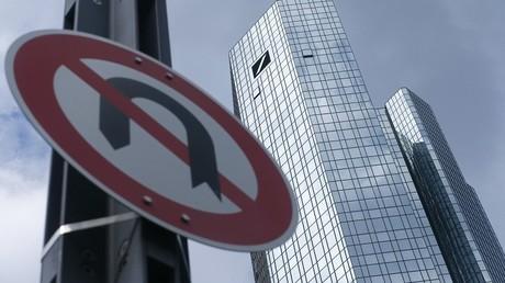 Le siège de la Deutsche Bank à Francfort