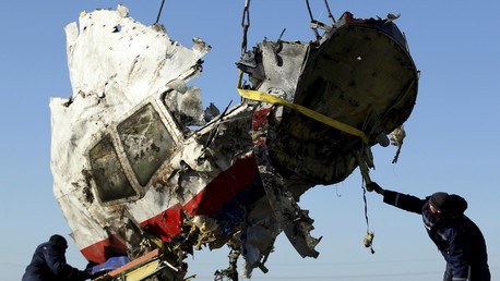 Les débris du MH17