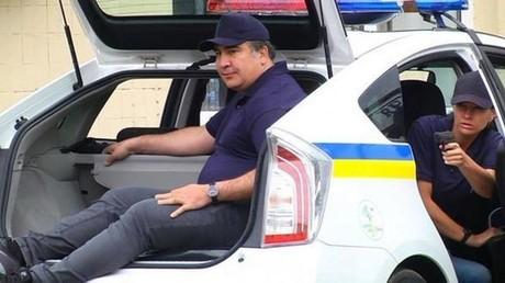 Mikheïl Saakachvili, personnage central d'une enquête du TPI pour crimes de guerre