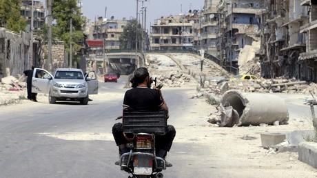 Alep, Syrie, le 1er août 2015