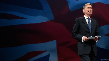 Philip Hammond, secrétaire d'État britannique des Affaires étrangères