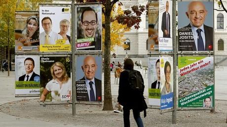 La campagne législative en Suisse a commencé
