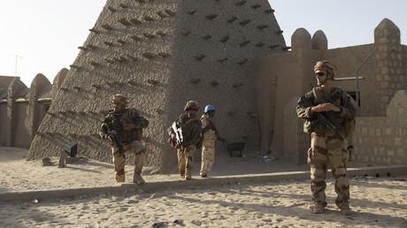 Près de 1500 soldats français sont actuellement déployés au Mali