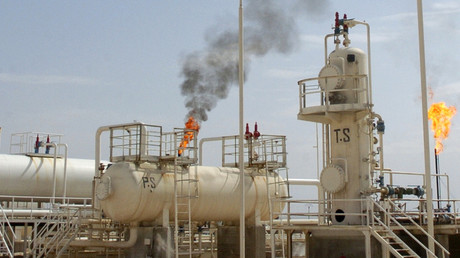 Une raffinerie syrienne