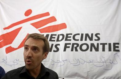 Des militaires américains forcent l'entrée de l'hôpital de MSF deux semaines après le bombardement