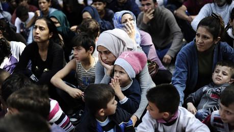 Des migrants syriens en Turquie