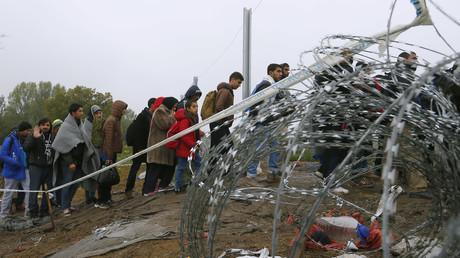 Des milliers de réfugiés arrivent tous les jours à la frontière entre la Croatie et la Hongrie.