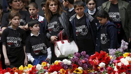 Les célébrations du génocide arménien à Erevan