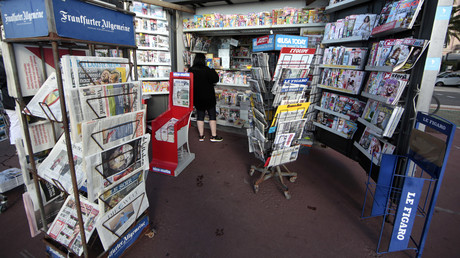 kiosque à journaux en France