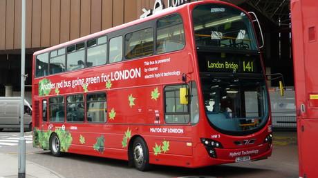 Un bus à Londres