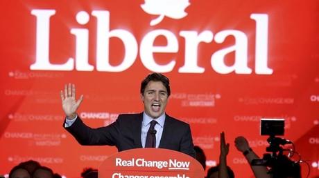 Justin Trudeau, nouveau Premier ministre canadien