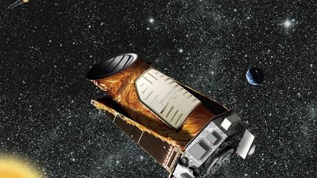 Une représentation du télescope Kepler qui a découvert l'étoile