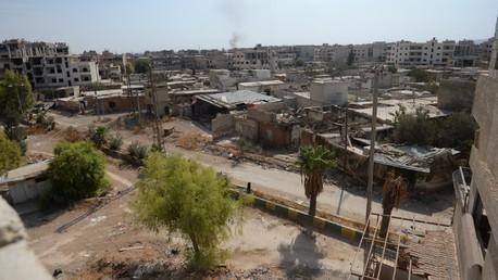 Des maison détruites en Syrie