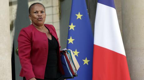 Christiane Taubira, la Garde des Sceaux.