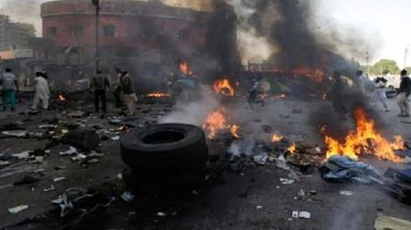 L'explosion a fait de nombreuses victimes