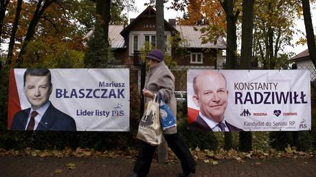 Les élections de dimanche en Pologne pourrait être l'occasion de voir, pour la première fois en huit ans, une alternance politique.