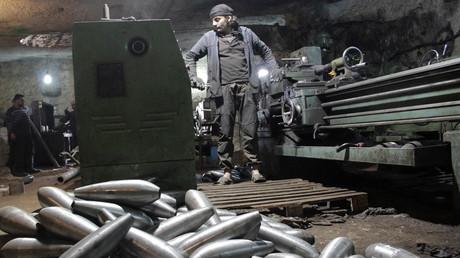 Des combattants syriens anti-gouvernementaux