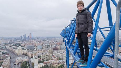 Alexander Voskresensky, amateur de rooftopping et de beaux clichés