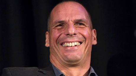 Yanis Varoufakis lors d'un meeting à Londres en septembre 2015