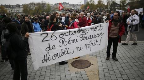 Commémoration du décès de Rémi Fraisse, Nantes
