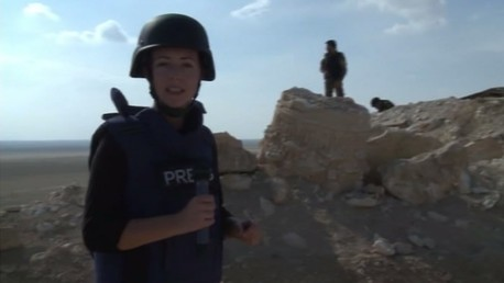 Lizzie Phelan à Palmyre