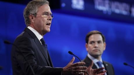 Jeb Bush et Marco Rubio