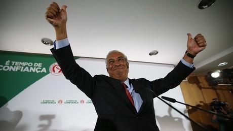 Le dirigeant du Parti socialiste portugais, Antonio Costa