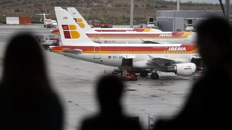 La compagnie espagnole Iberia s'est défendue de toute utilisation du mot 'Palestine' par le pilote de l'avion qui se rendait à Tel-Aviv (israël).