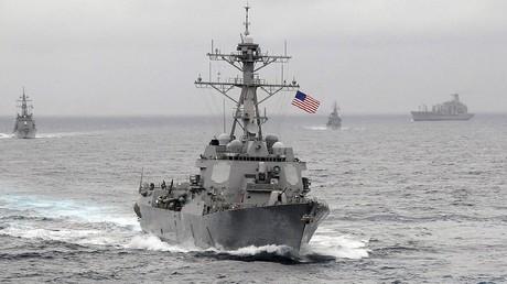 Le destroyer américain USS Lassen