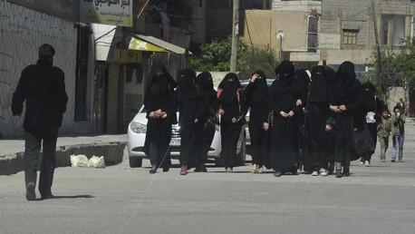 Des femmes à Raqqa