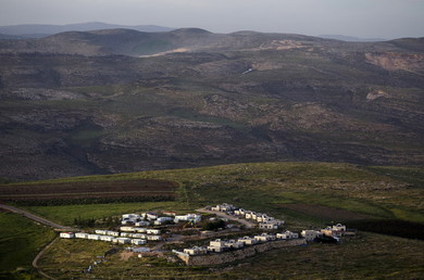 Une colonie israélienne en Cisjordanie.