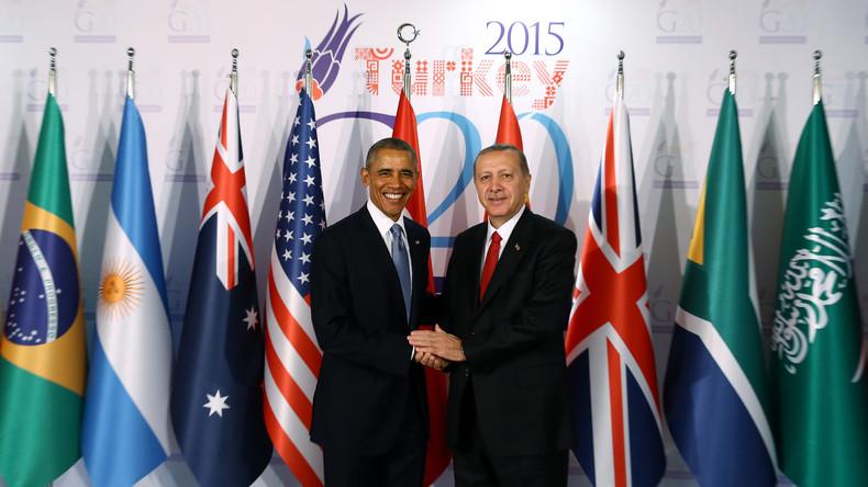 Le président américain Barack Obama et son homologue turc Tayyip Erdogan