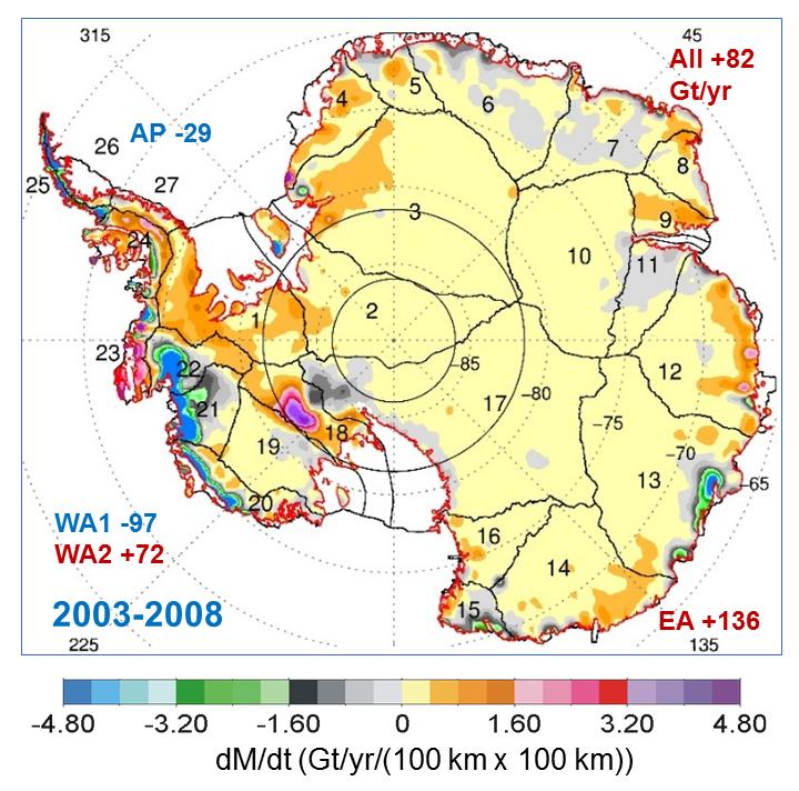 Polémique climatique : la NASA annonce que l'Antarctique gagne plus de glace qu'elle n'en perd