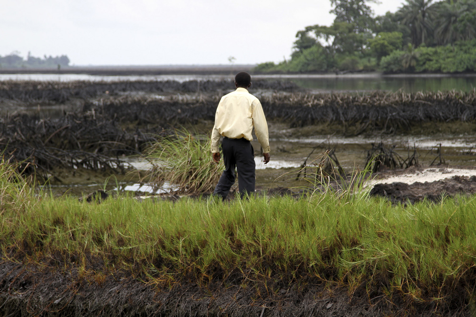 Amnesty International accuse Shell de mentir sur le nettoyage du pétrole au Nigeria