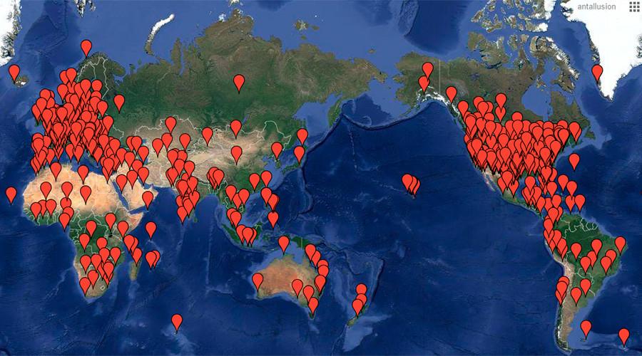 Les villes où sont prévus des rassemblements ce 5 novembre