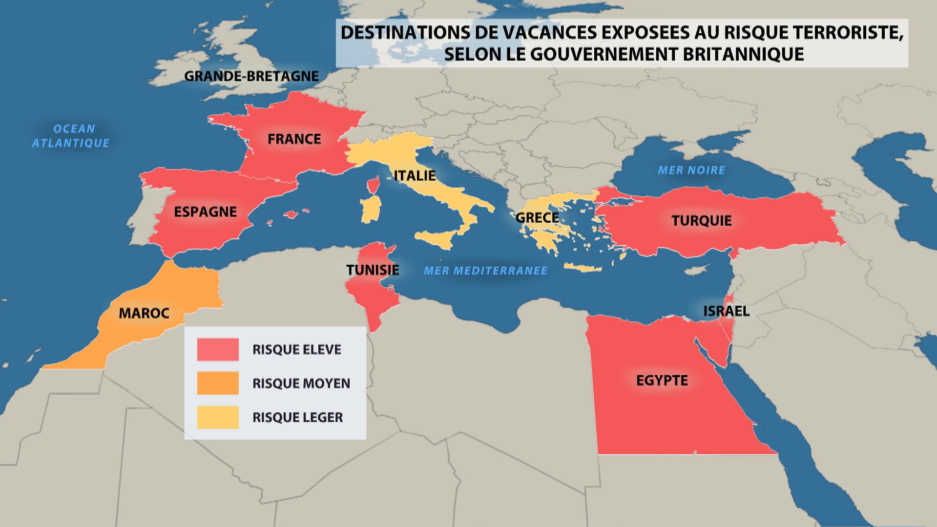 Charm el-Cheikh : vols suspendus, touristes coincés
