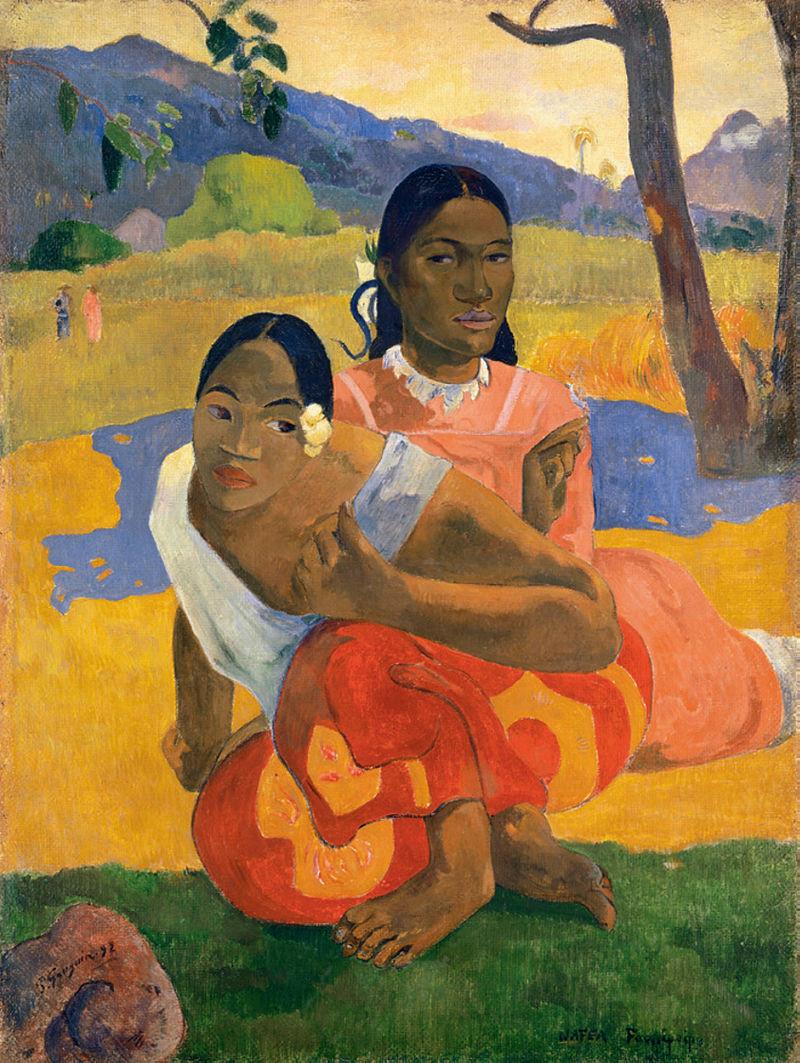 Quand te maries-tu ? de Gauguin