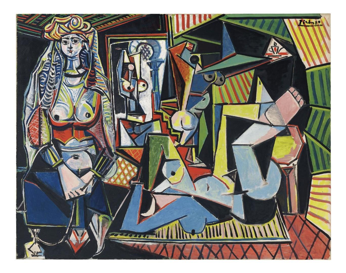 Les Femmes d'Alger de Picasso reste le tableau vendu le plus cher aux enchères