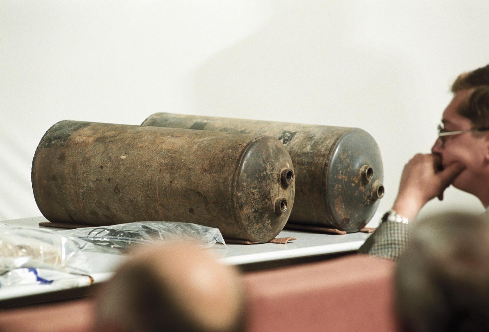 Des explosifs de fabrication artisanale