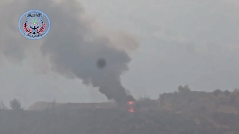 Un hélicoptère de fabrication russe aurait été abattu par un missile américain (VIDEO)