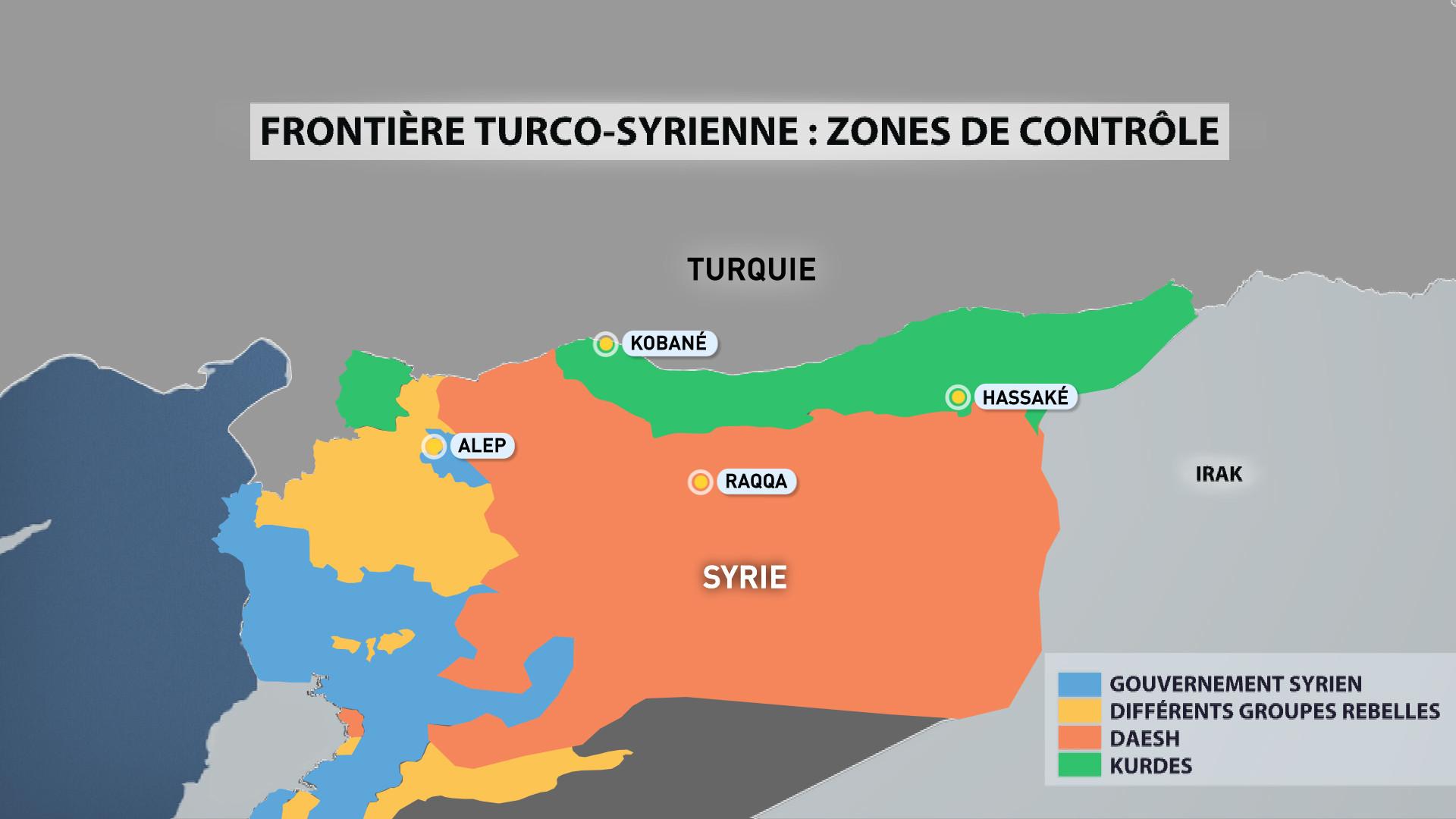 Etat des lieux à la frontière turco-syrienne