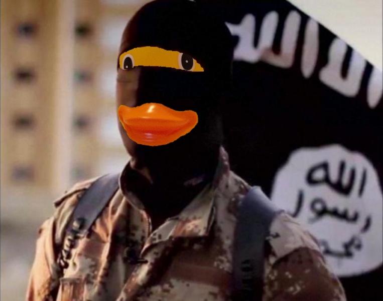 Quand les utilisateurs de 4Chan transforment les soldats du califat en canards