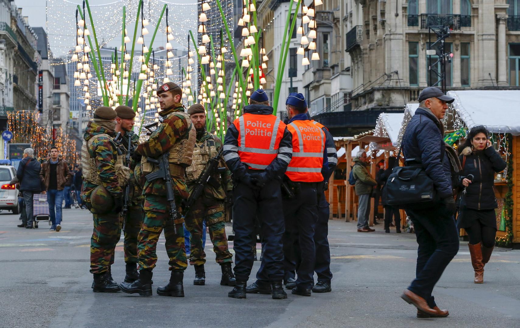 Verrouillée pendant plusieurs jours, Bruxelles a été durement touchée
